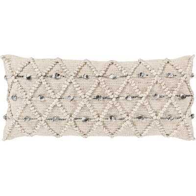 Kiera Geometric Lumbar Pillow in , No Fill - AllModern