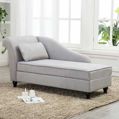 Schaefer Storage Chaise Lounge - Wayfair