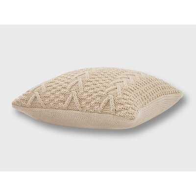 Ratree Chunky Sweater Knit Pillow - Wayfair