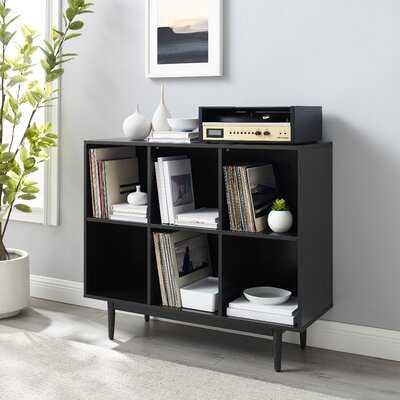 """Sinclaire 35.88"""" H x 42.25"""" W Cube Bookcase - Wayfair"""
