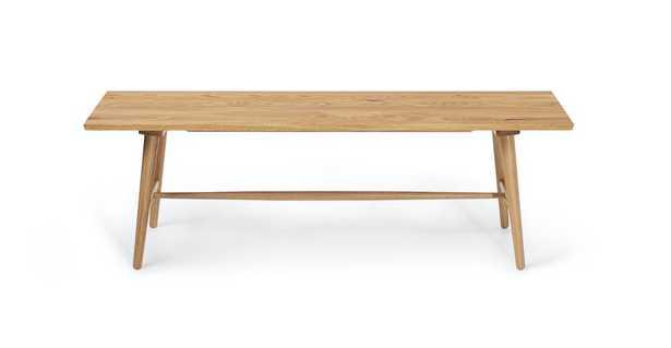 """Seno Oak 55"""" Bench - Article"""