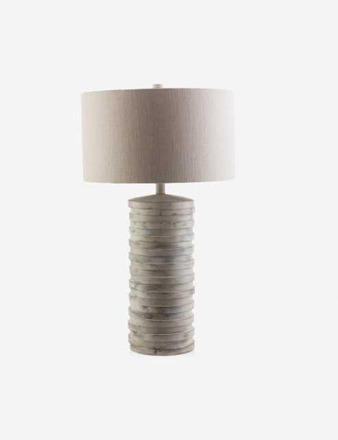 Sidonie Table Lamp, Sandstone - Lulu and Georgia