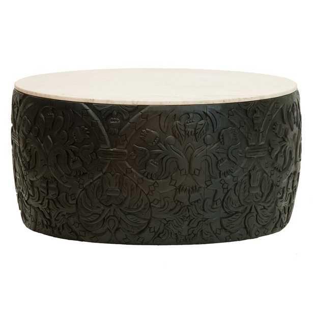 Selamat Designs Florence Broadhurst Coffee Table Table Base Color: Black - Perigold