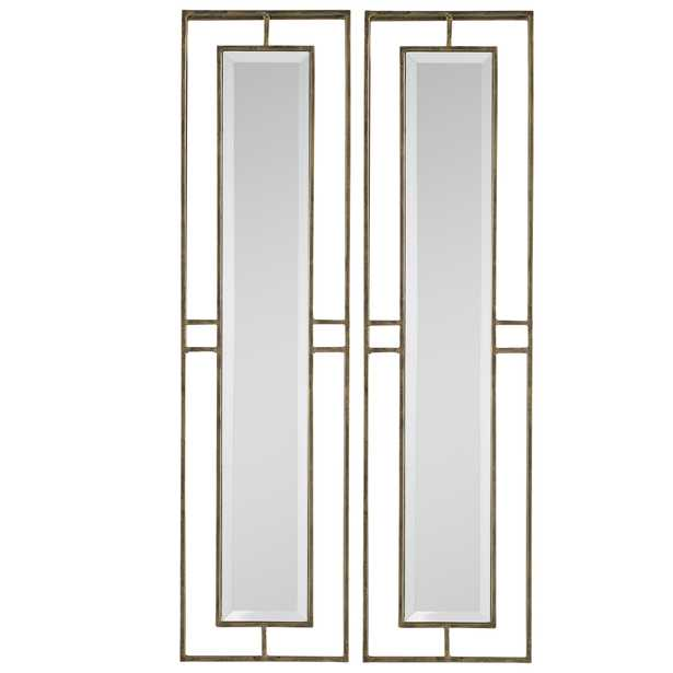 Rutledge Gold Mirrors, S/2 - Hudsonhill Foundry