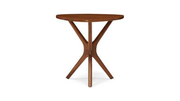 Tolson Mid Century Modern (Wood Top) End Table - Walnut - Joybird