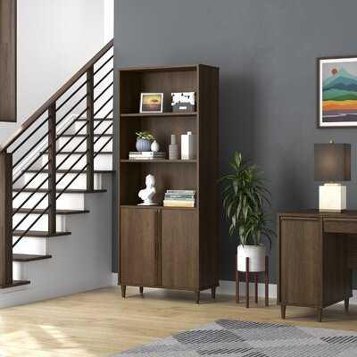 "Elston 71.85"" H x 29.29"" W Wood Standard Bookcase - Wayfair"