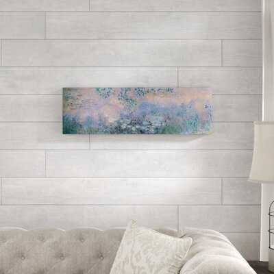 'Water Lilies 1914-22' by Claude Monet Painting Print on Wrapped Canvas - Wayfair