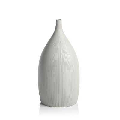 "9.75"" Glass Table Vase - Wayfair"