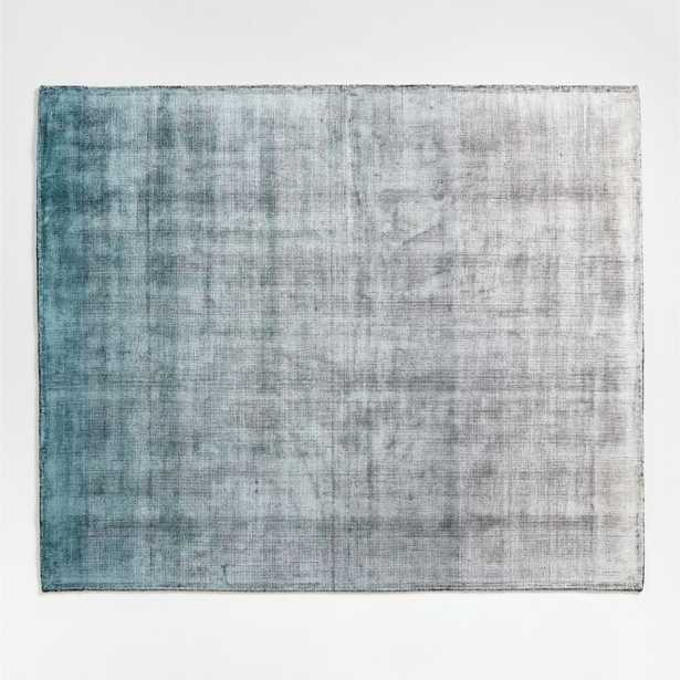 Dineen Rug Blue 8'x10' - Crate and Barrel