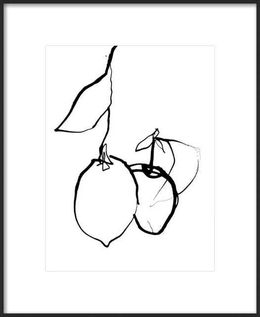 Lemons 1 by Ashleigh Ninos for Artfully Walls - Artfully Walls