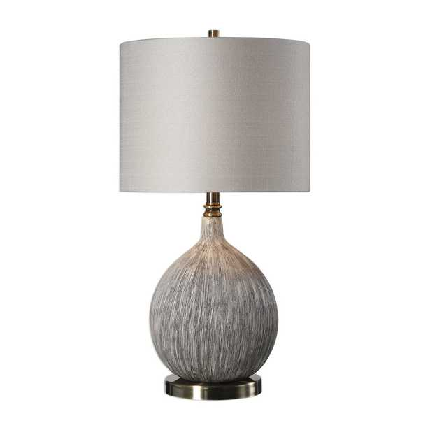 Hedera Textured Ivory Table Lamp - Hudsonhill Foundry