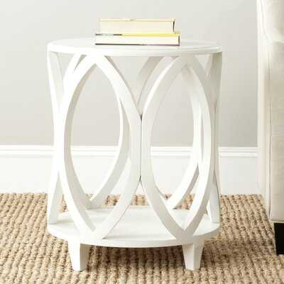 Eastham Solid Wood End Table with Storage - Wayfair