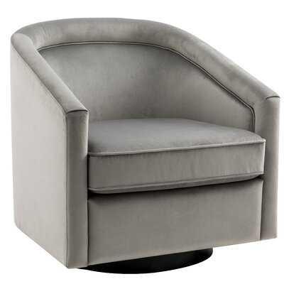 "Ciara Swivel 25"" Barrel Chair - Wayfair"