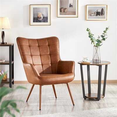 Aichele 28'' Wide Tufted Wingback Chair - Wayfair