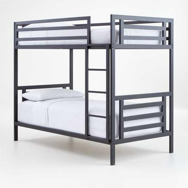 River Metal Bunk Bed - Crate and Barrel