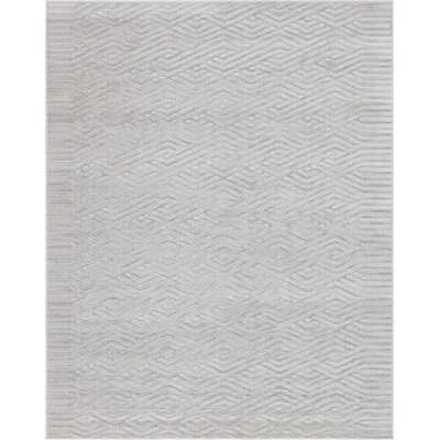 Power Loom Gray Rug 8' x 10' - Wayfair