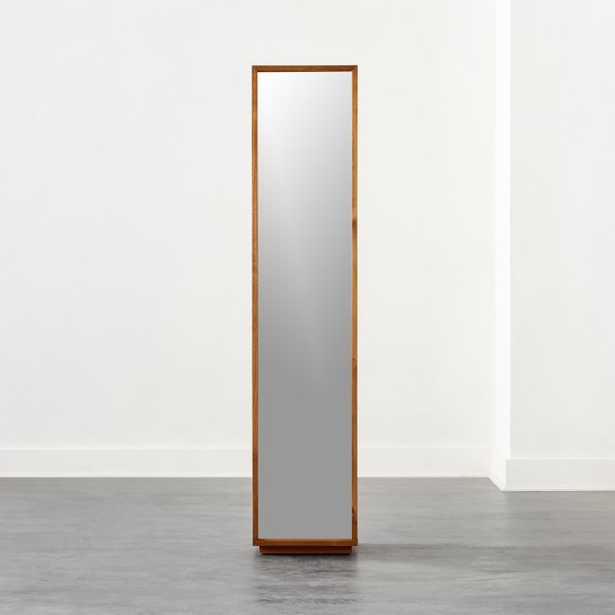 Reflection Acacia Bath Cabinet - CB2