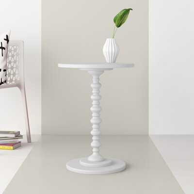Mako Pedestal End Table - Wayfair