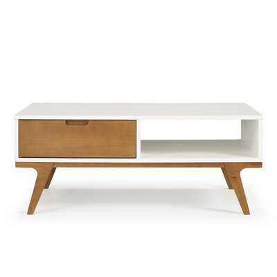 Barnsdall Coffee Table with Storage - Wayfair
