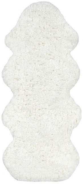 Hand Tufted One and a Half Piece Faux Sheepskin - Haldin