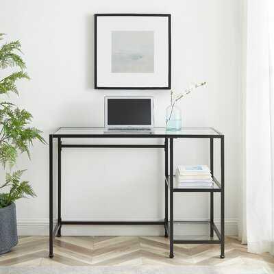 Broward Glass Desk - Wayfair