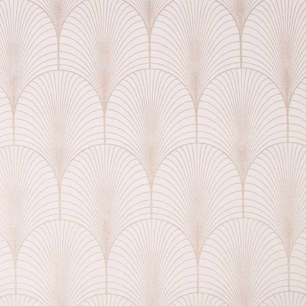 Superfresco Easy Josephine Art Deco Rosa Removable Wallpaper, Pink - Home Depot