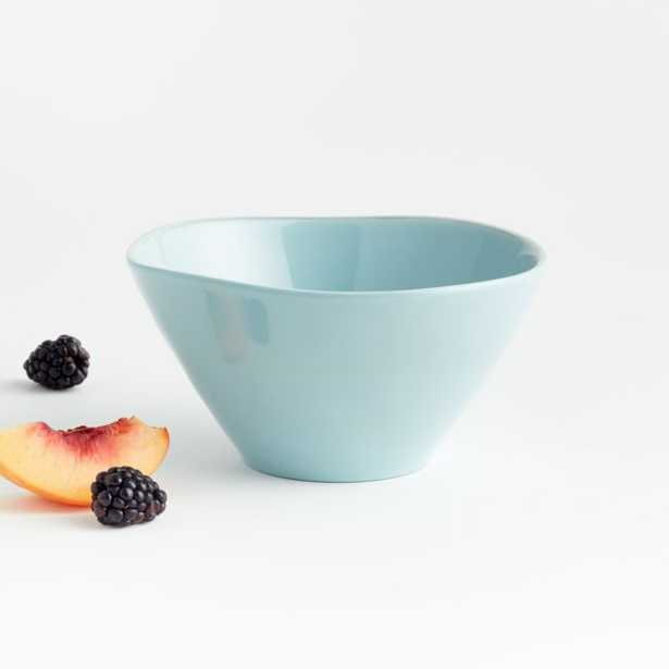Marin Blue Melamine Bowl - Crate and Barrel