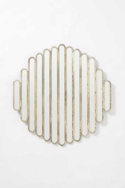 Abate Slatted Mirror - Anthropologie