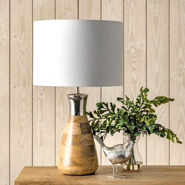 """Douglas 22"""" Wood Table Lamp - Loom 23"""