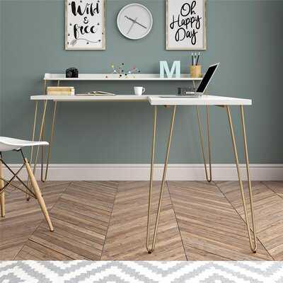 Vansant L-Shape Desk - Wayfair