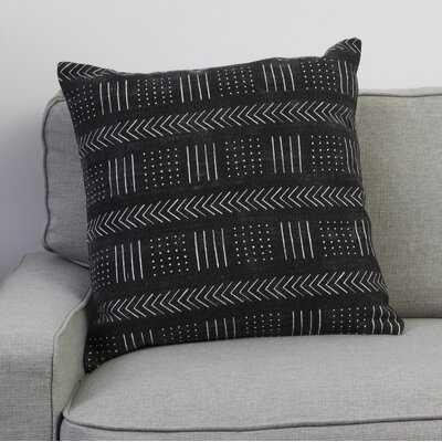 "Starke Cotton Geometric 20"" Throw Pillow - Wayfair"