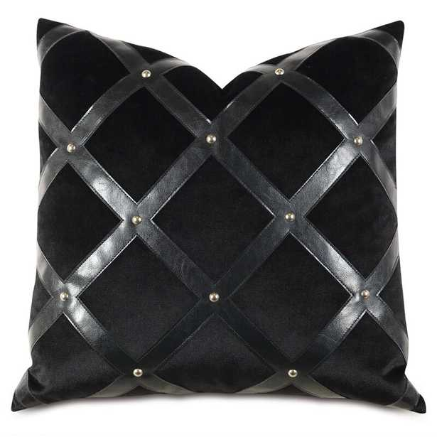 Eastern Accents Barclay Butera Faux Leather Throw Pillow - Perigold