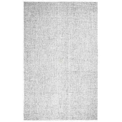 Kerley Handmade Tufted Wool Gray Area Rug - Wayfair
