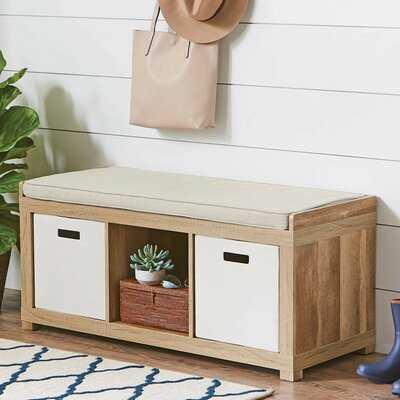 Delcastillo Shoe Storage Bench - Wayfair