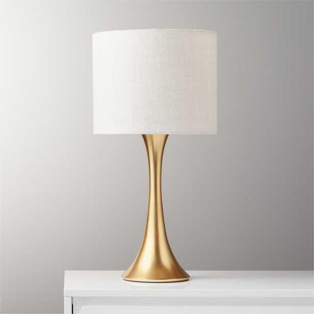 Ada Brass Table Lamp - CB2