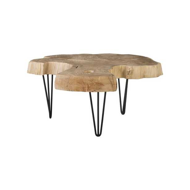 Phillips Collection Bleached 3 Legs Coffee Table - Perigold