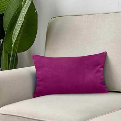 Hornbeck Rectangular Velvet Pillow Cover - Wayfair