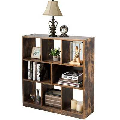 """Stansell 37"""" H x 11"""" W Cube Bookcase - Wayfair"""