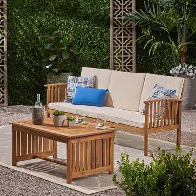 Olympia 2 Piece Sofa Seating Group with Cushions - Wayfair
