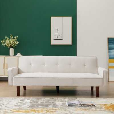 Love Seat Sofa For Living Room Sofa Sleeper Sofa Bed With 3 Position Reclining 2-Seat Modern Polyester Fabric 75''L For Small Space Apartment Dorm - Wayfair