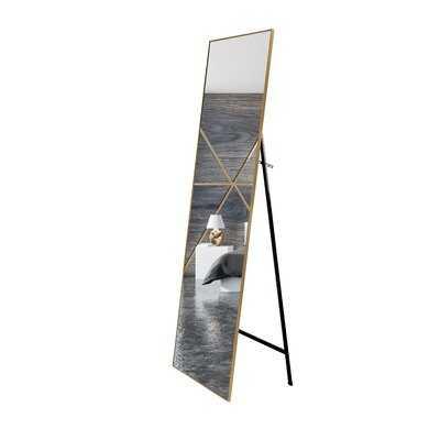 Full Length Mirror Large 65x22 Inches, Dressing Floor Standing Mirror, Wall mountable, Modern Design - Wayfair