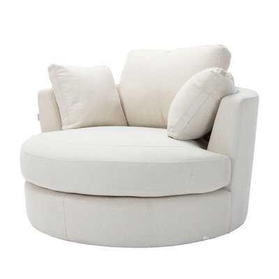 """Dory 42.5"""" Wide Swivel Barrel Chair - Wayfair"""