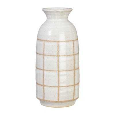 Thermopolis Plaid Table Vase - Wayfair