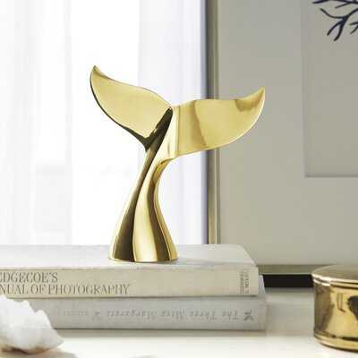 Daley Whale Tail Object - Wayfair