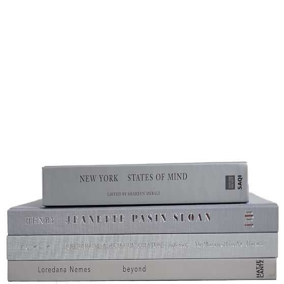 ColorStak Modern Book, Marble - West Elm