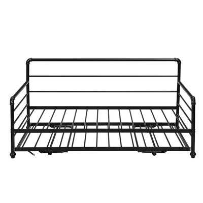 Daybed With Adjustable Trundle - Wayfair