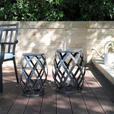 Pedestal End Table Set - Wayfair