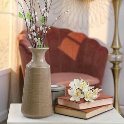 Aliceville Ribbed Cylinder Table Vase - Wayfair
