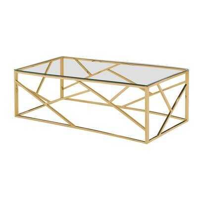 Estrela Angled Coffee Table - AllModern