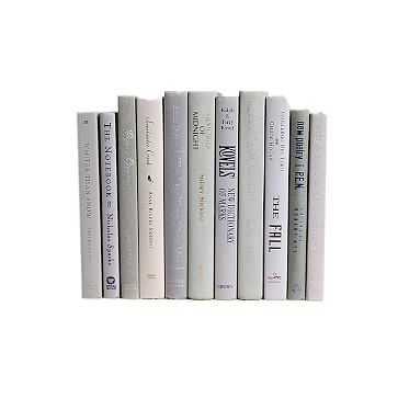 Modern Decorative Book, Marble - West Elm